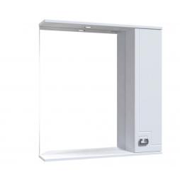 Дзеркало Лаура з шафою та підсвіткою 80 см