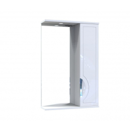 Дзеркало Мерете з шафою та підсвіткою 55 см
