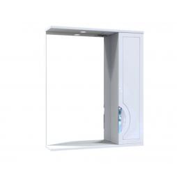 Дзеркало Мерете з шафою та підсвіткою 70 см