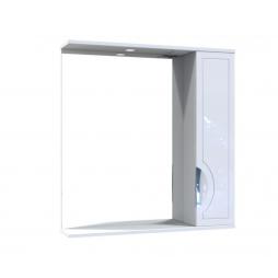 Дзеркало Мерете з шафою та підсвіткою 80 см