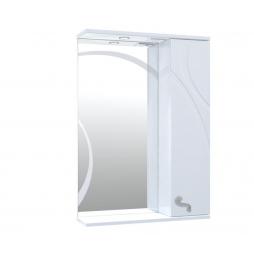 Дзеркало Ронда з шафою та підсвіткою 60 см