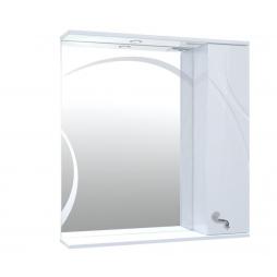 Дзеркало Ронда з шафою та підсвіткою 80 см